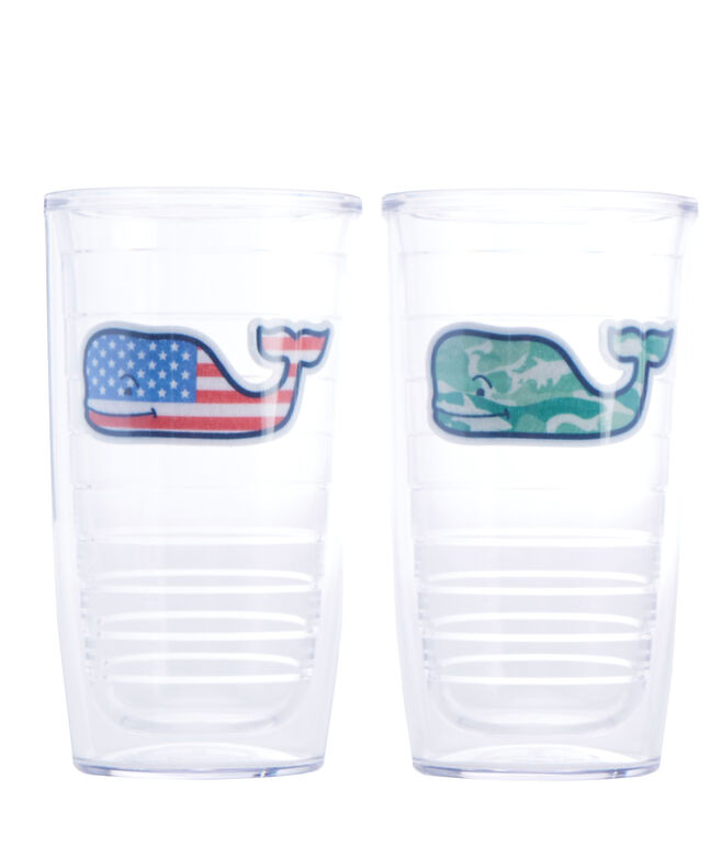 Whale Fill Tervis Tumbler (Set of 4)