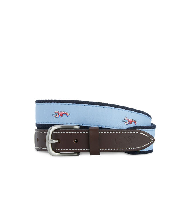 Boys Lobsters Canvas Club Belt