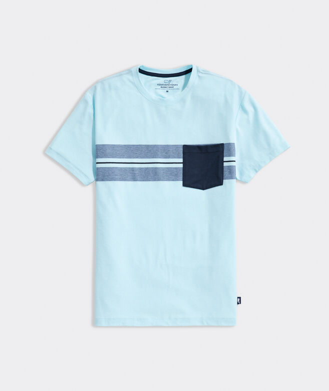 Surf Stripe Edgartown Short-Sleeve Pocket Tee