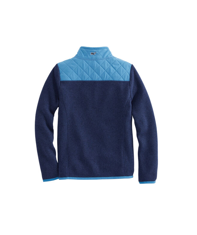Girls Sweater Fleece Full-Zip Shep Shirt