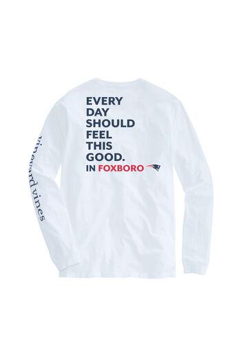 Adult New England Patriots EDSFTG Long-Sleeve T-Shirt 349dcc770