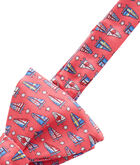 America's Cup Flag Sails Bow Tie