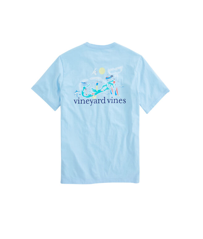 Bermuda Whale Pocket T-Shirt