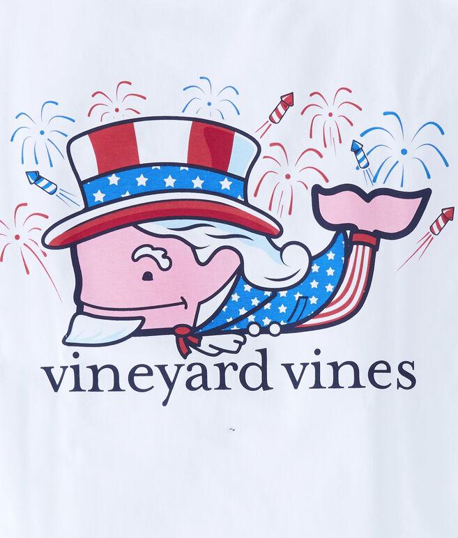 Uncle Sam Whale Pocket T-Shirt