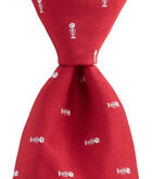 Fishbone Woven Tie