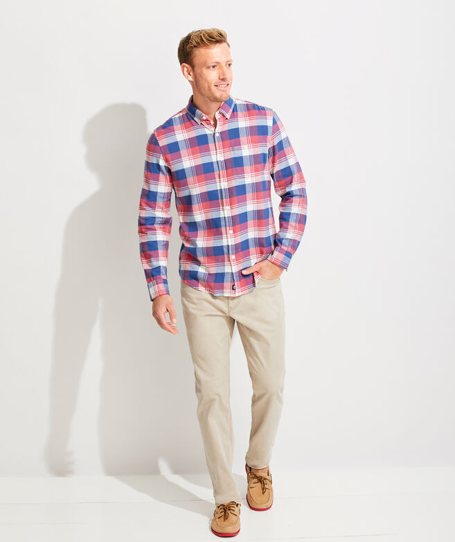 Classic Fit Ketch Tucker Button-Down Shirt