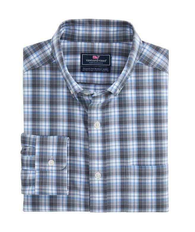Classic Fit Darvo Cotton Performance Murray Shirt