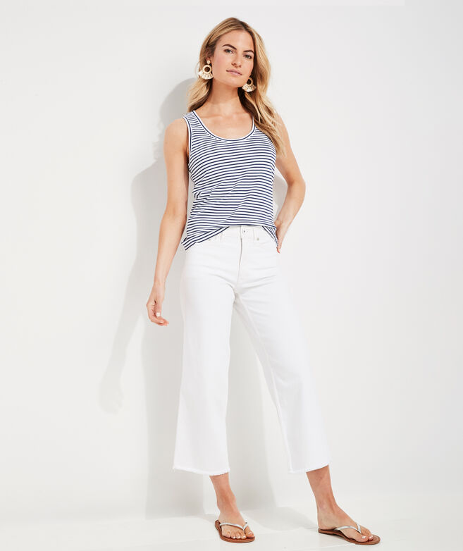 Wide Leg Jamie High-Rise White Jeans