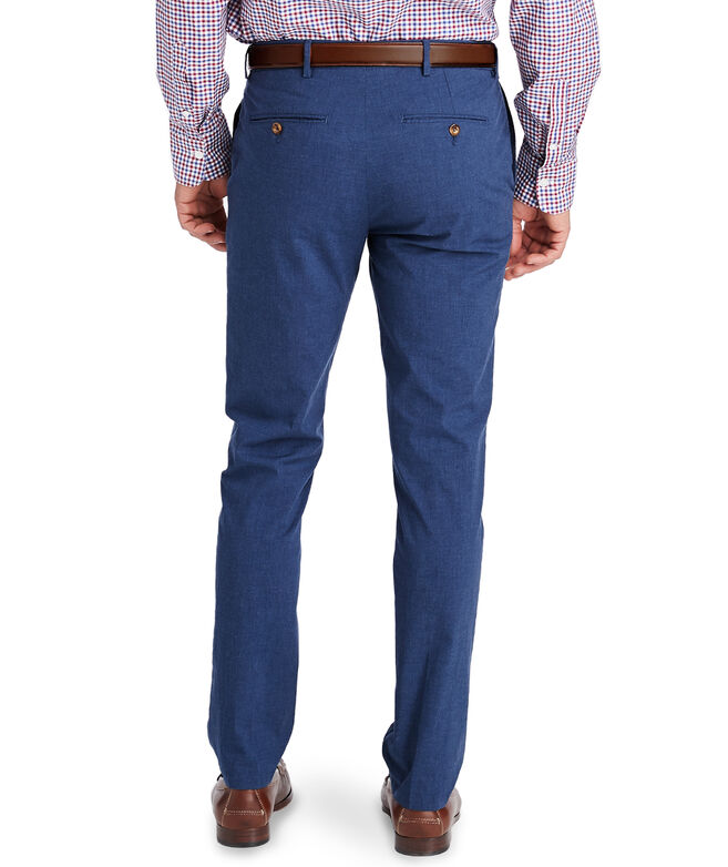 Cotton Melange Greenwich Pants