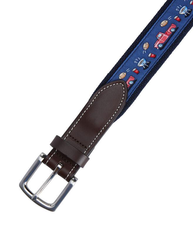 Tailgate Canvas Club Belt