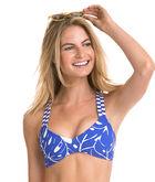 Monstera Linear Reversible Swim Top