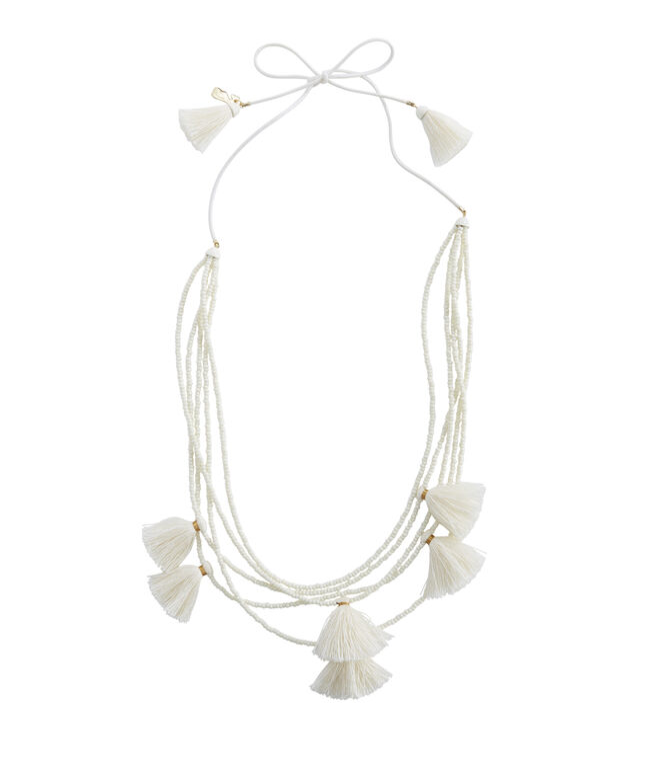 Multi Layer Tassel Necklace
