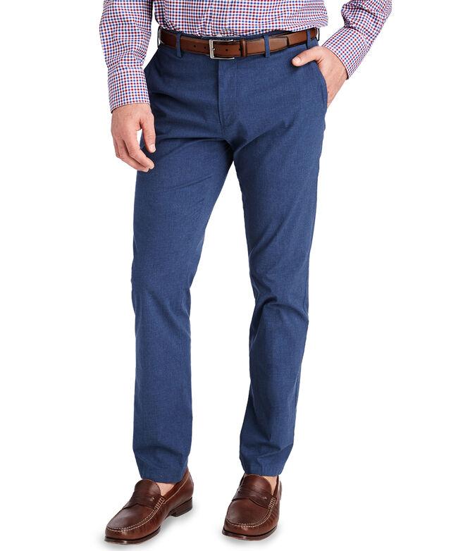 Cotton Melange Greenwich Pants