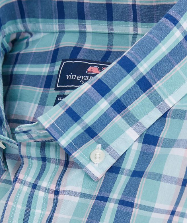 Classic Gibbs Hill Plaid Tucker Shirt