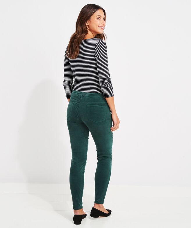 Velveteen Jamie High-Rise Jeans