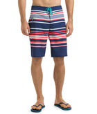 Americana Stripe Board Shorts