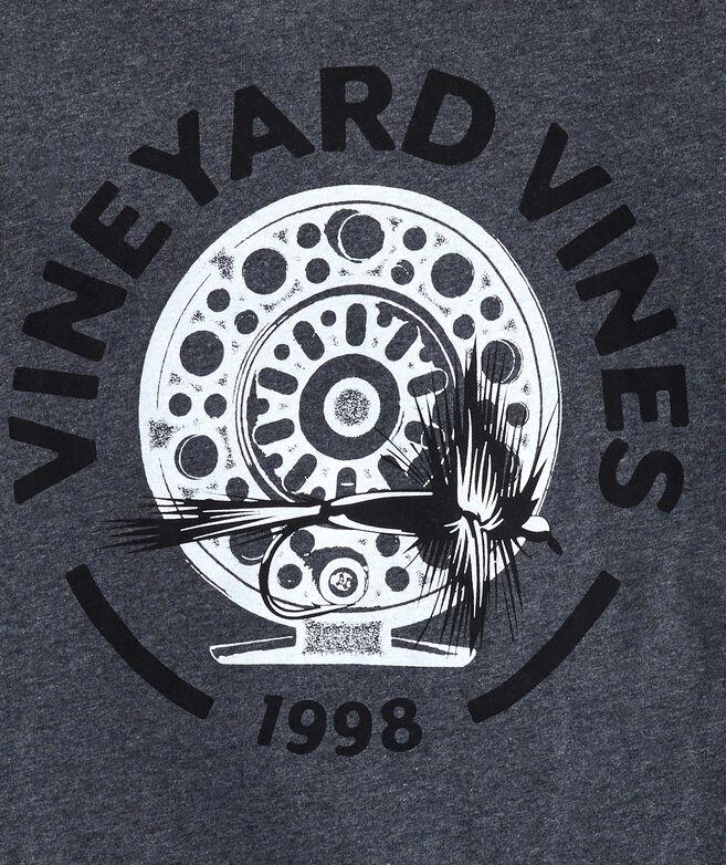 Big & Tall Vineyard Fly Long-Sleeve Pocket T-Shirt