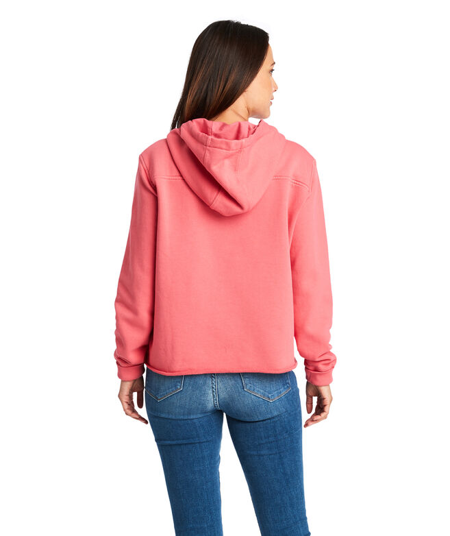 Over-Dyed Beach Hoodie Shep Shirt