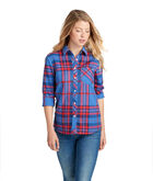 Northern Plaid Performance Flannel Chilmark Relaxed Button-Up