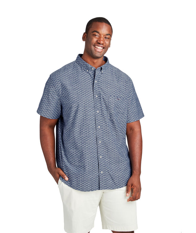Short-Sleeve Mini Mahi Classic Tucker Shirt