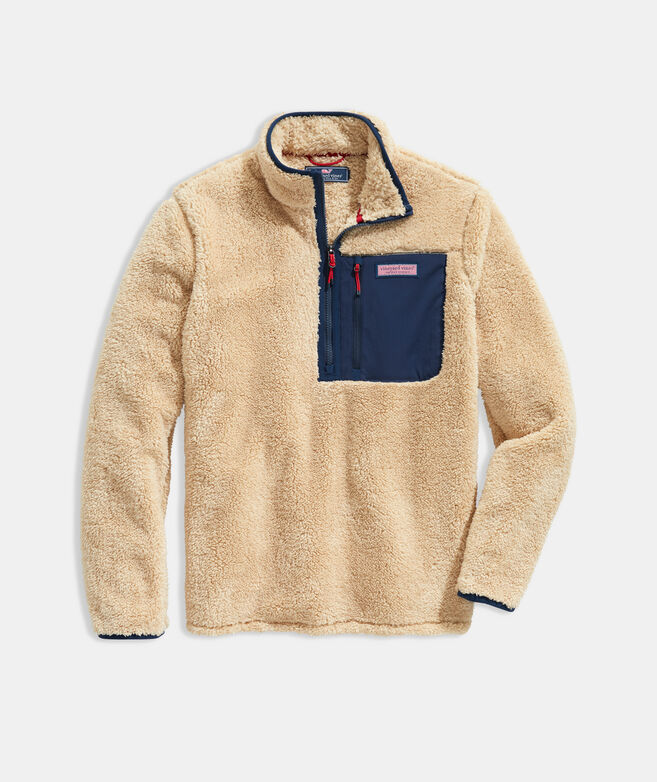 Stillwater High-Pile Sherpa 1/4-Zip