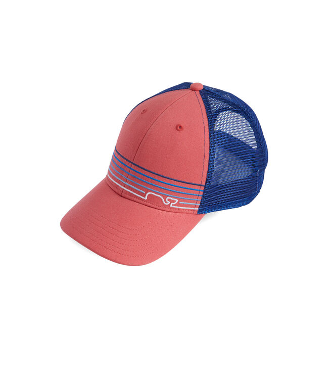 Whale Line Trucker Hat