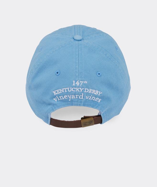 Kentucky Derby Jockey Helmet Icon Baseball Hat