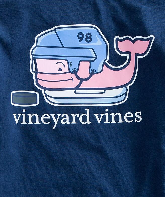Shop boys long sleeve hockey whale pocket t shirt at for Whale emblem on shirt