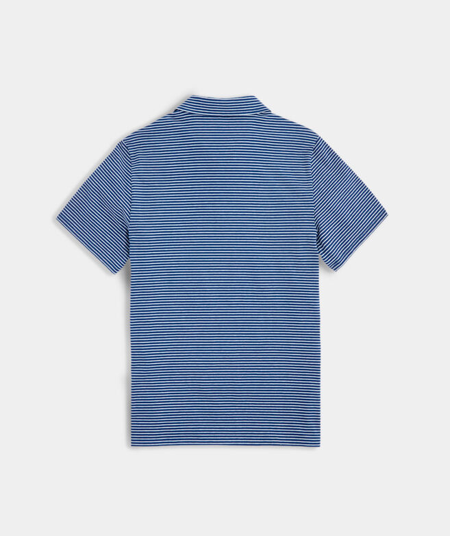 Mens Color To Color Striped Edgartown Polo