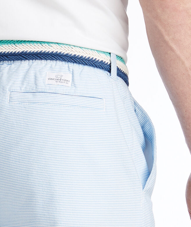 7 Inch Striped Jetty Shorts