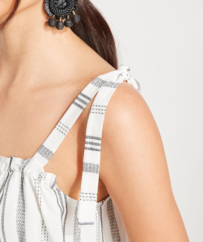 Stripe Tie Strap Top
