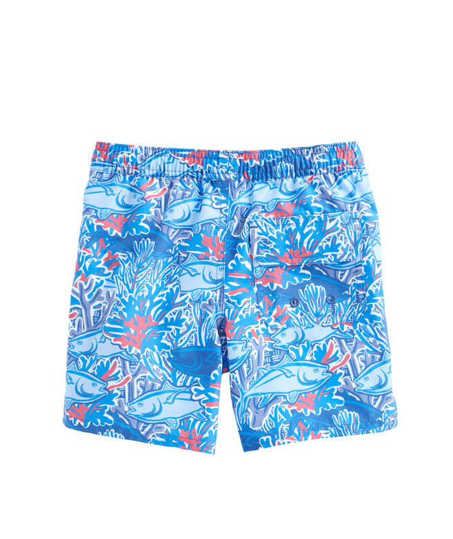Boys Tuna In Coral Chappy Trunks