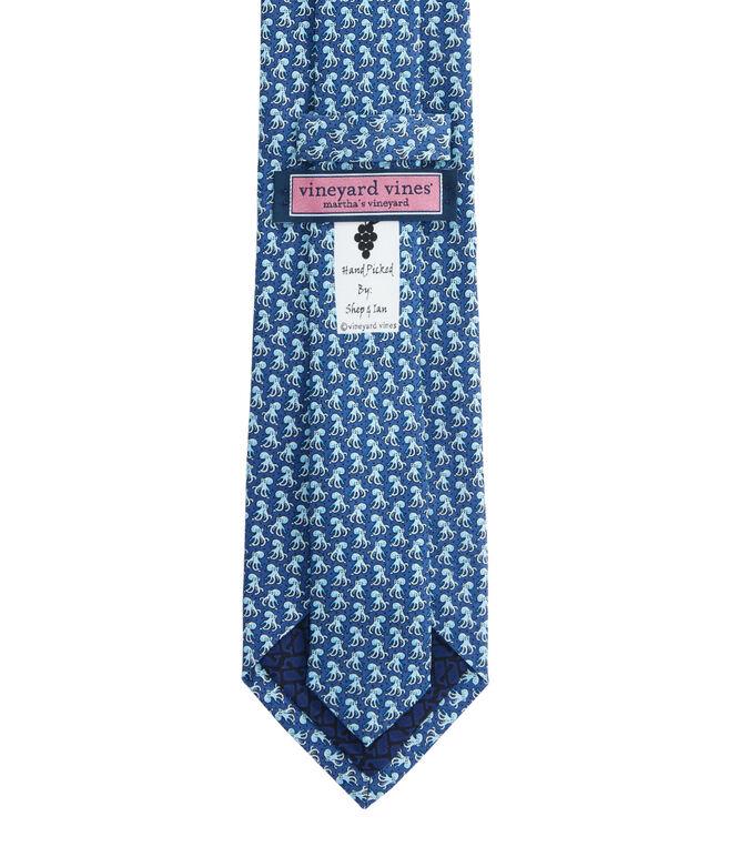 Octopus Printed Tie