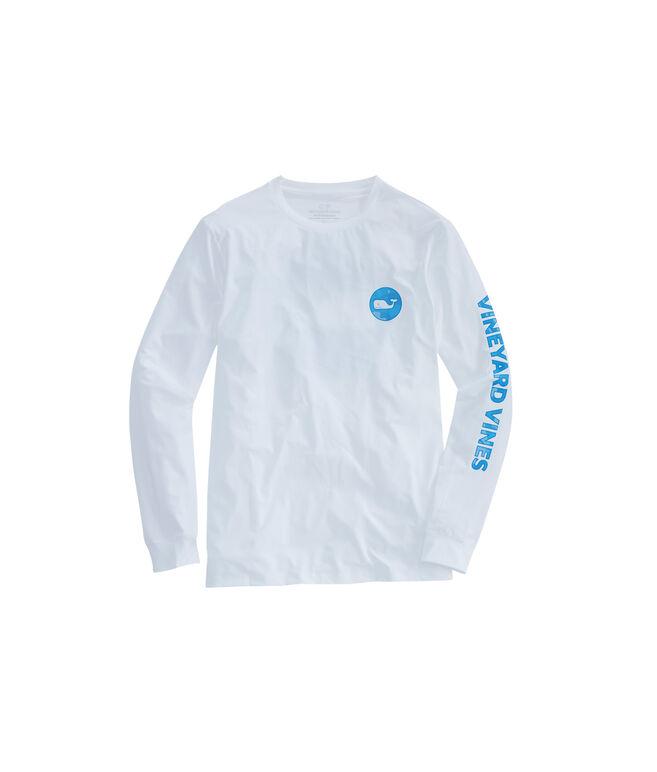 Long-Sleeve Performance Marlin Camo Dot T-Shirt