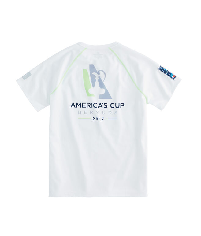 America's Cup Logo Performance T-Shirt