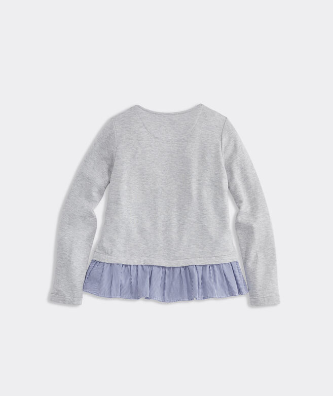 Girls' Dreamcloth Mixed Media Top