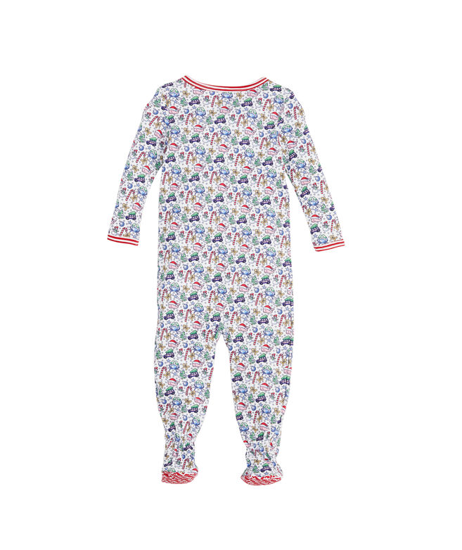 Baby Multi Icon Footed One Piece