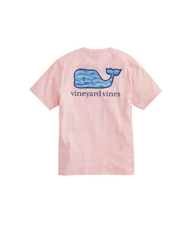 Fish Traffic Whale Fill Pocket T-Shirt