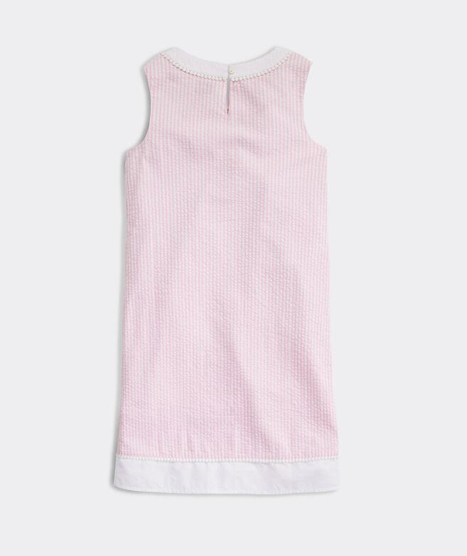 Girls' Seersucker Shift Dress
