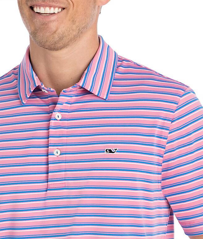 Three Color Stripe Sankaty Polo