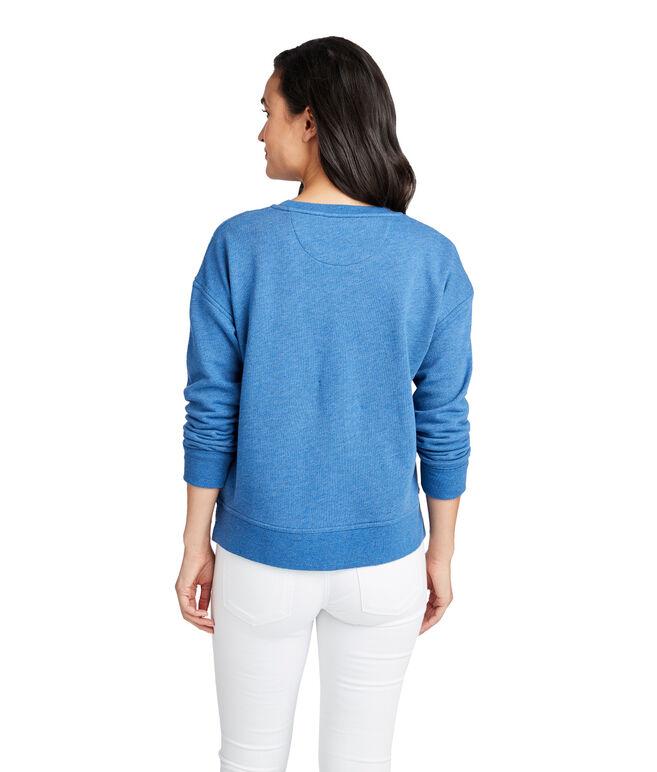 Two-Tone vineyard vines Logo Sweatshirt