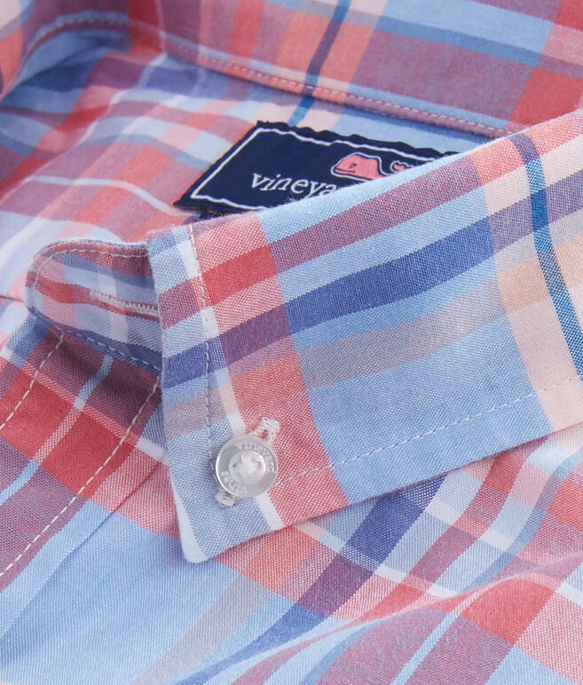Fox Town Plaid Slim Murray Shirt