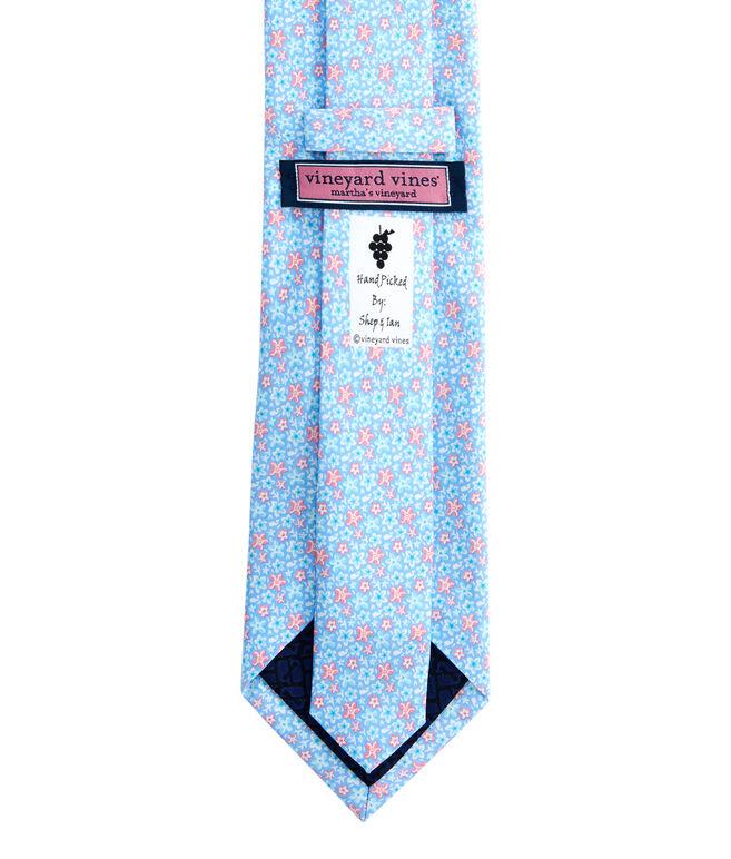 Resort Flowers Printed Tie