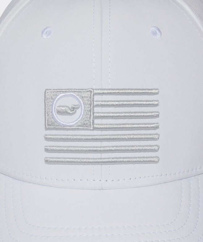 Pop Whale Flag Performance Baseball Hat