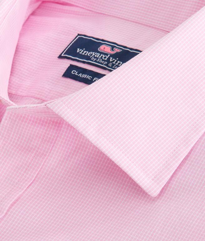 Gingham Classic Fit Burgee Shirt