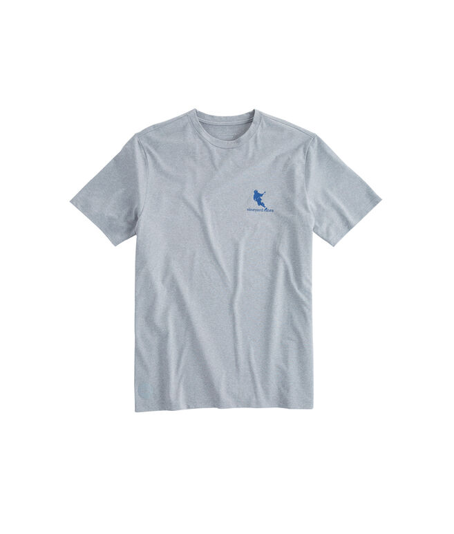 Lacrosse Game Performance Pocket T-Shirt
