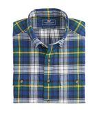Perigean Plaid Slim Crosby Shirt