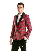 Tartan Tuxedo Jacket