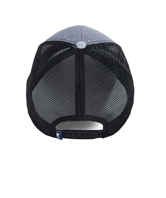 3b339b4de9c Shop Low Pro Performance Mahi Dot Trucker Hat at vineyard vines