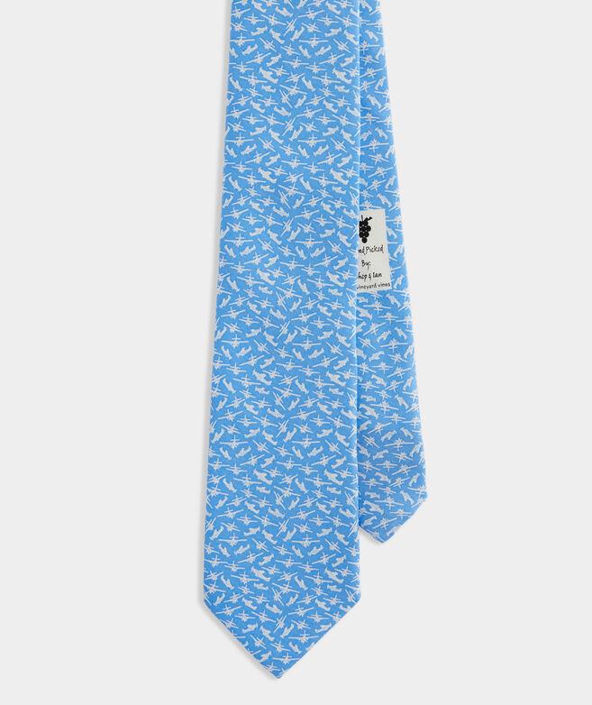 Jet Set Printed Tie